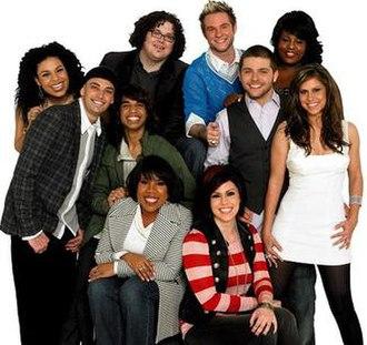 American Idols LIVE! Tour 2007 - Image: Ai 6 top 10tour