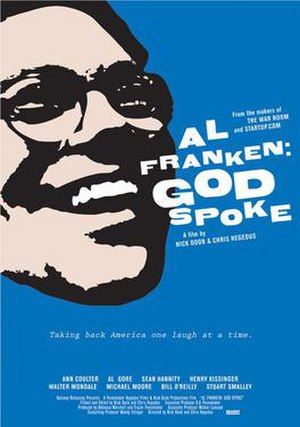 Al Franken: God Spoke - Theatrical release poster