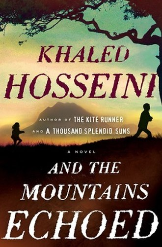 And the Mountains Echoed - Image: And the Mountains Echoed book cover