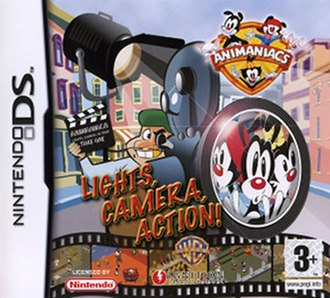 Animaniacs: Lights, Camera, Action! - Image: Animaniacs Lights, Camera, Action cover