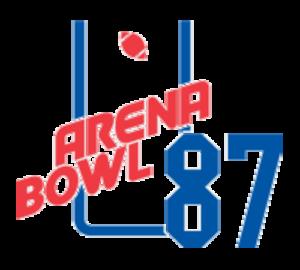 ArenaBowl I - Image: Arena Bowl 1987