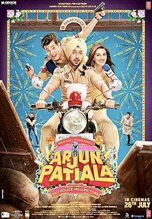 <i>Arjun Patiala</i> 2019 Indian Hindi-language parody film