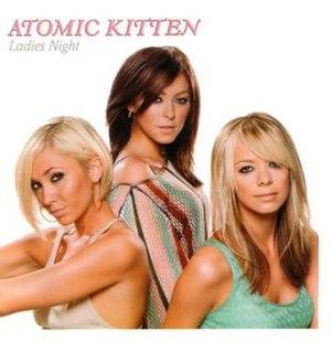 Ladies Night (Atomic Kitten album) - Image: Atomic Kitten Ladies Night Cover