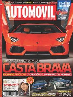 Automóvil Panamericano - Image: Automóvil Panamericano cover
