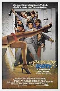 <i>Bachelor Party</i> (1984 film) 1984 film by Neal Israel