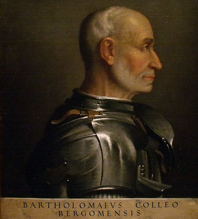 Bartolomeo Colleoni Italian condottiero
