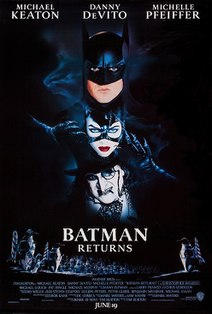 1992 American superhero film based on the DC Comics character Batman directed by Tim Burton