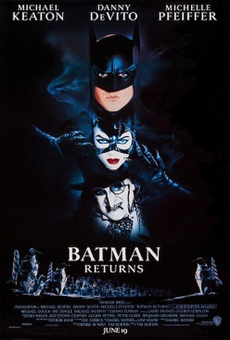 Batman Returns - Theatrical release poster by John Alvin