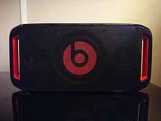 Boombox - A Beats by Dr. Dre Beatbox Portable boombox utilizing Bluetooth technology to play music