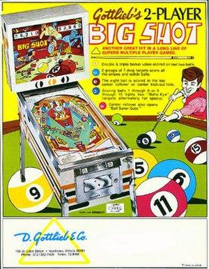 Big Shot (pinball) - Image: Big Shot (pinball)