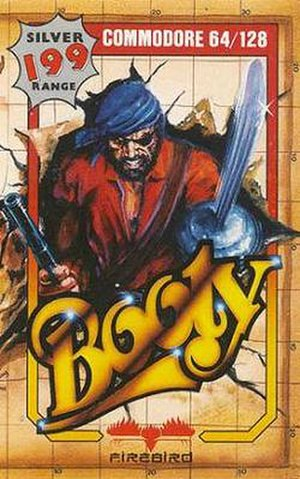 Booty (video game) - Image: Booty (firebird) cover