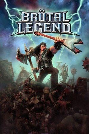 Brütal Legend - Image: Brutal Legend Cover