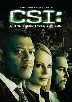 CSI: Crime Scene Investigation (season 9) - Season 9 U.S. DVD cover