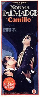 <i>Camille</i> (1926 feature film) 1926 silent film directed by Fred Niblo