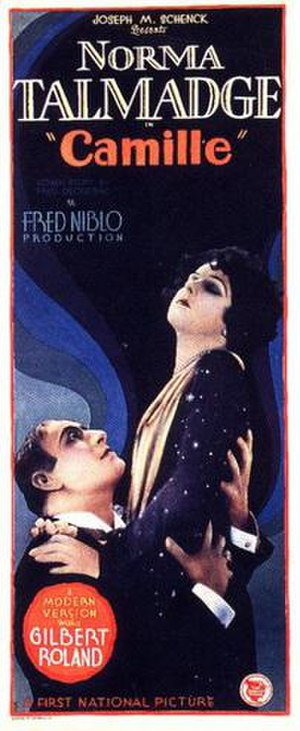 Camille (1926 feature film) - Lobby poster