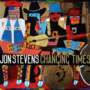 Changing Times (Jon Stevens album) - Image: Changing Times by Jon Stevens