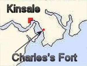 Charles Fort (Ireland) - Image: Charles Fort Kinsale