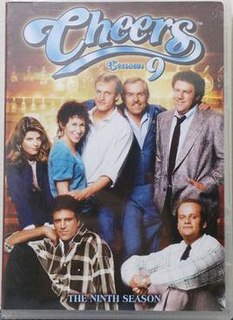 <i>Cheers</i> (season 9) season of television series