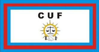 Civic United Front - Image: Civic United Front Flag
