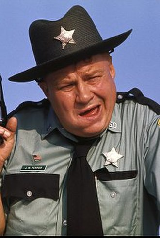 Clifton James - Clifton James as Sheriff J.W. Pepper in Live and Let Die (1973)