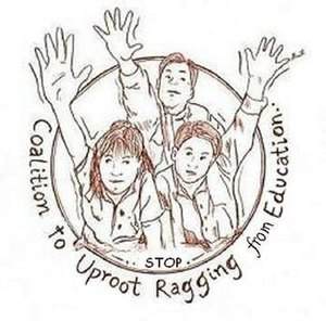Coalition to Uproot Ragging from Education - Image: Coalition to Uproot Ragging from Education