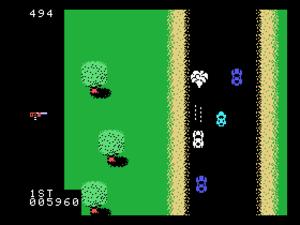 Spy Hunter - Screenshot of the ColecoVision port