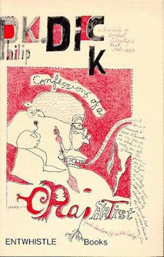 Confessions of a Crap Artist - Cover of first edition (paperback)