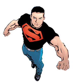 Superboy (Kon-El) - Cover of Teen Titans vol. 3, 7 (March 2004). Art by Mike McKone, Marlo Alquiza, and Jeromy Cox.