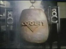 The title card which appeared on every episode of Series 3 of Cool It.