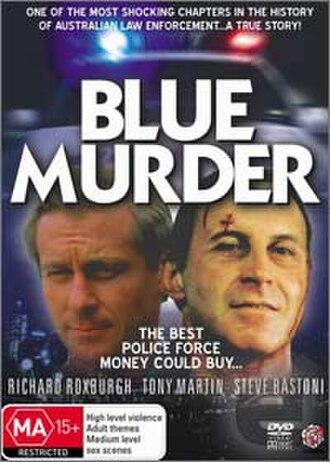 Blue Murder (miniseries) - Image: DVD Blue Murder