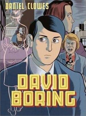 David Boring - Cover of the original hardback edition of David Boring