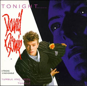 Tonight (Iggy Pop song) - Image: David bowie tonight 12 inch single cover
