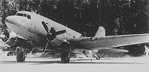 Dipolog Airport - C-47 Skytrain 1945