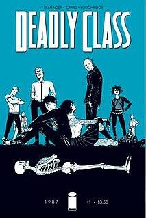<i>Deadly Class</i> American comic book series