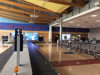Victoria International Airport - Domestic Baggage Claim Area