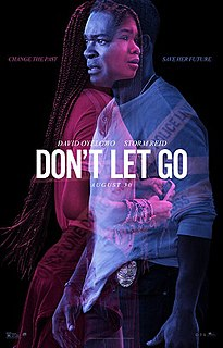<i>Dont Let Go</i> (2019 film) 2019 American supernatural thriller film