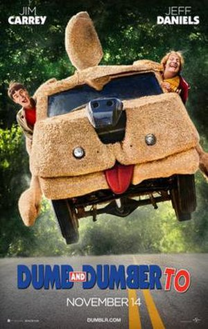 Dumb and Dumber To - Theatrical release poster