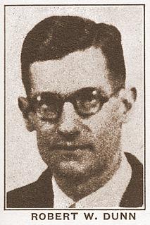 Robert W. Dunn American activist