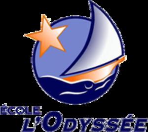 École L'Odyssée - Image: Ecole Odyssee logo