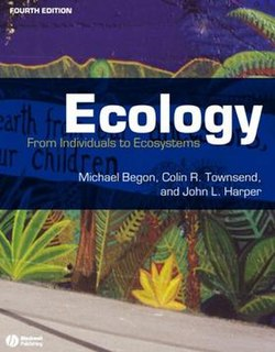 <i>Ecology: From Individuals to Ecosystems</i> book by Michael Begon, Colin Townsend and John Harper