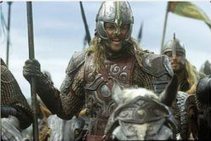 Éomer - Karl Urban as Éomer in Peter Jackson's The Lord of the Rings: The Two Towers.
