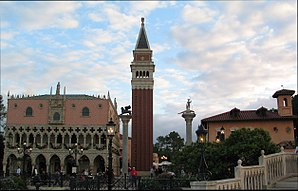 Italy Pavilion at Epcot - Image: Epcot's Italian Pavilion