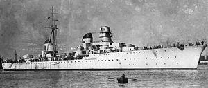 Italian cruiser Eugenio di Savoia - Image: Eugenio di savoia