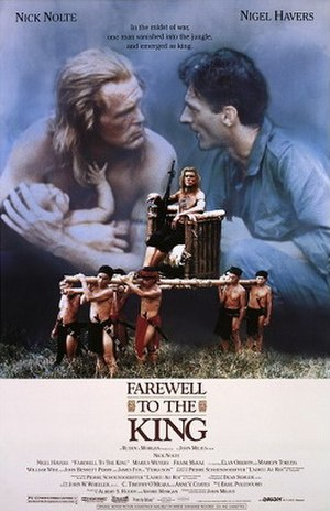 Farewell to the King - Theatrical release poster