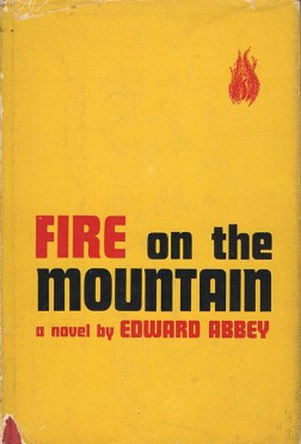 Fire on the Mountain (Abbey novel) - First edition