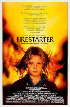 Firestarter (film) - Theatrical release poster