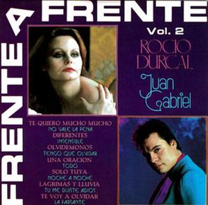 Frente a Frente, Vol. 2 - Image: Frente a Frente Vol. II cover