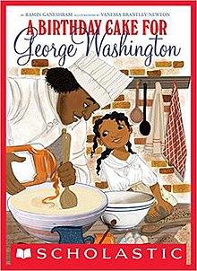 Stupendous A Birthday Cake For George Washington Wikipedia Funny Birthday Cards Online Inifofree Goldxyz