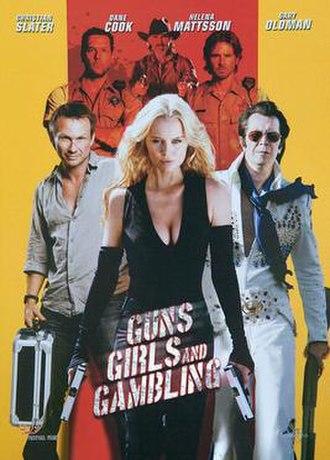 Guns, Girls and Gambling - DVD cover