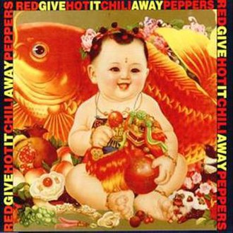 Give It Away (Red Hot Chili Peppers song) - Image: Give It Away Single Cover